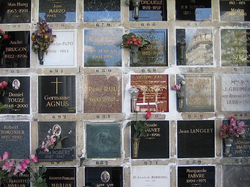 Paris Columbarium